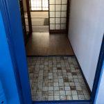 玄関のタイルの模様がかわいい♪(玄関)