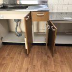 大きなお鍋や調味料も収納できます。(キッチン)